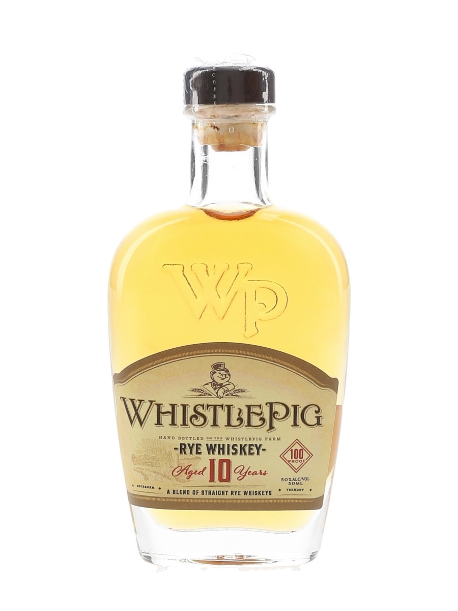 WhistlePig 10 Year Old Rye 100 Proof  5cl / 50%