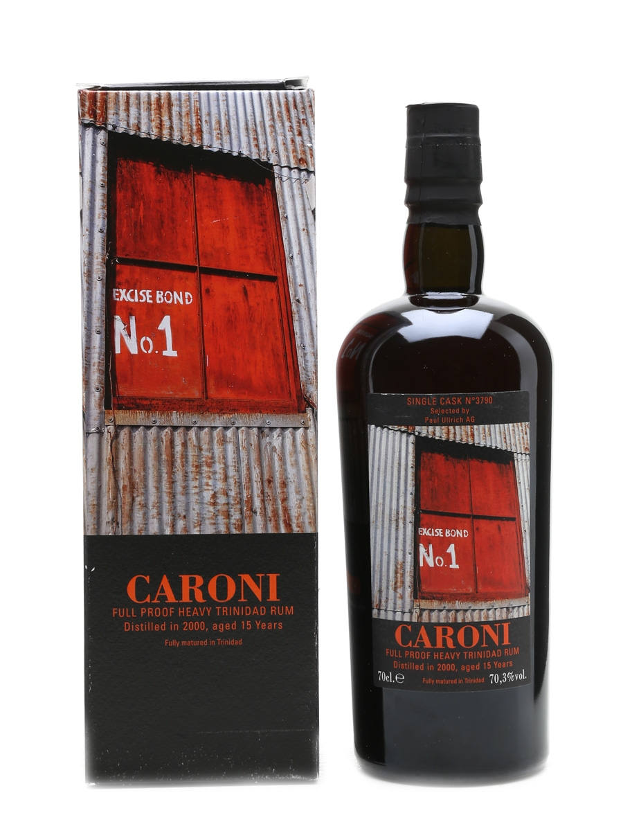 Caroni 2000 Single Cask Full Proof Heavy Trinidad Rum Selected By Paul Ullrich AG 70cl