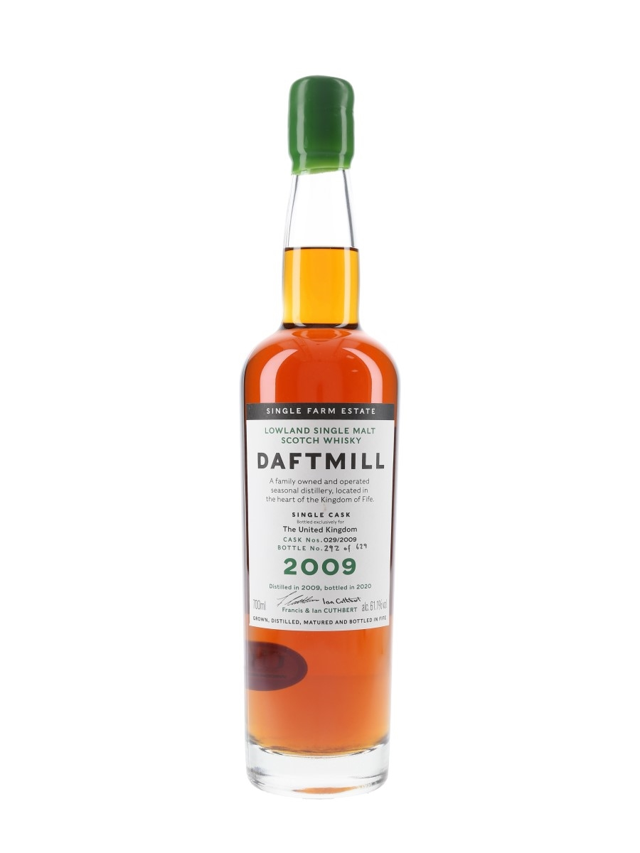 Daftmill 2009 Single Sherry Cask 029-2009 Bottled 2020 - United Kingdom Exclusive 70cl / 61.1%