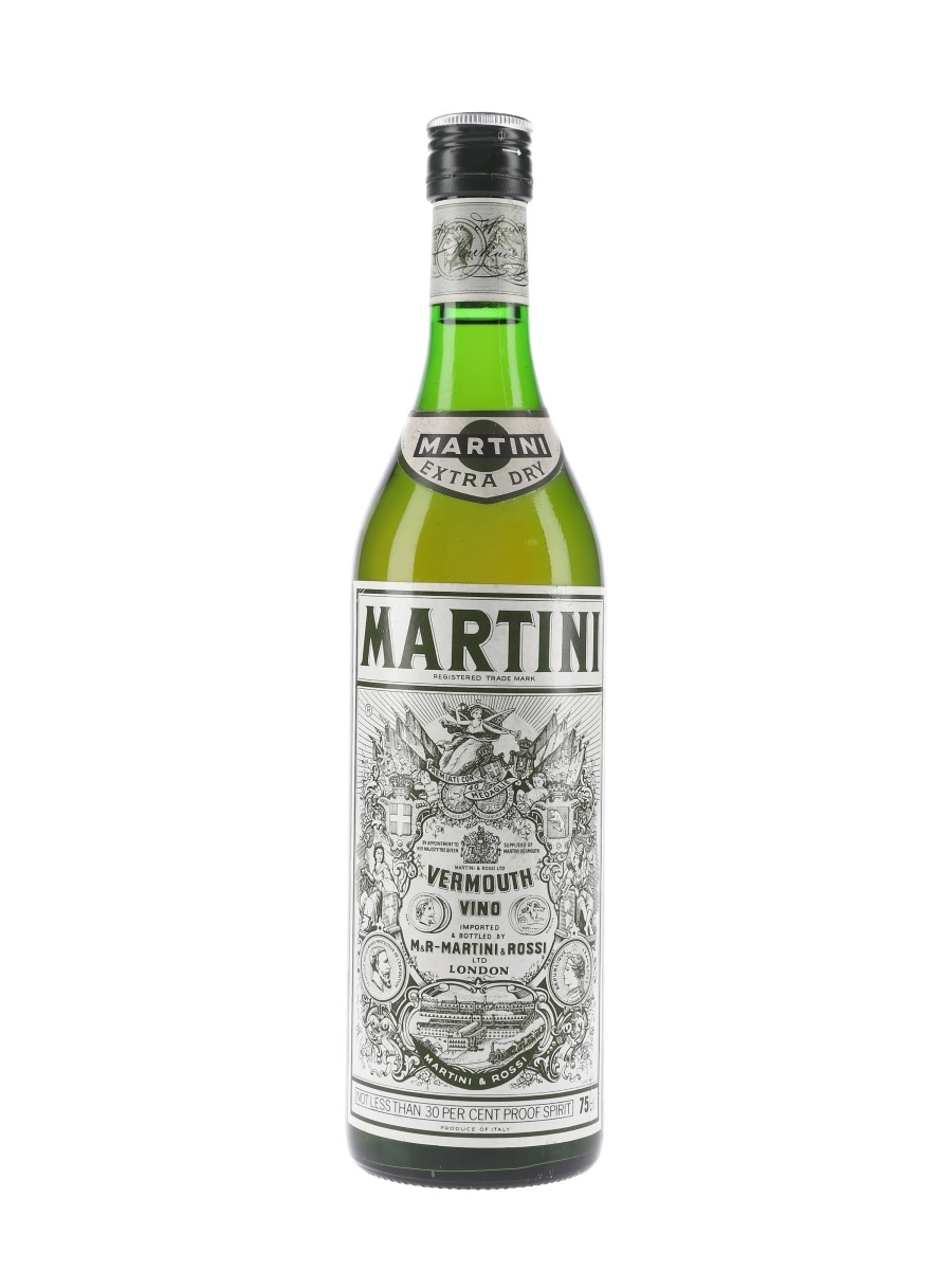 Martini Extra Dry Bottled 1970s 75cl / 17%