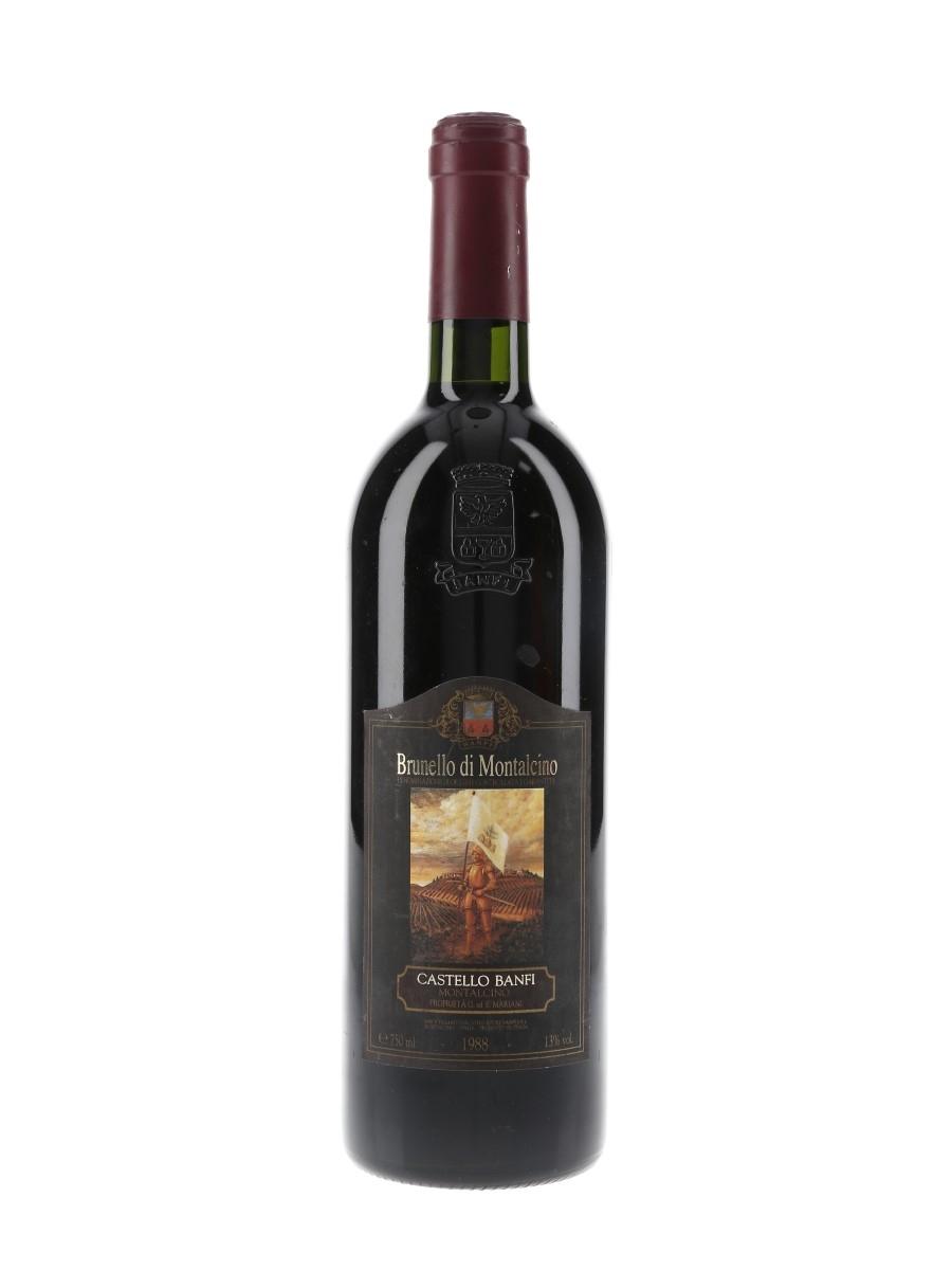 Brunello Di Montalcino 1988 Castello Banfi 75cl / 13%