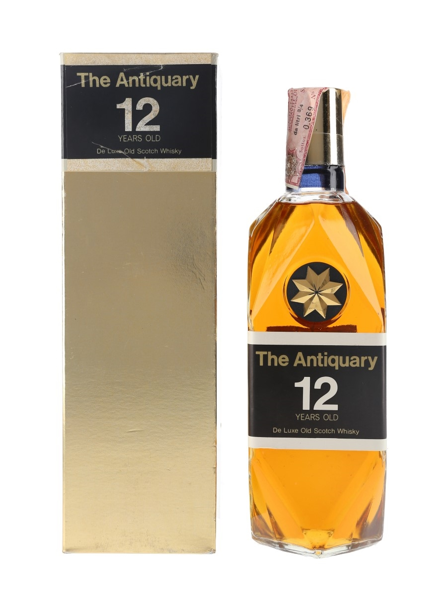 Antiquary 12 Year Old Bottled 1970s - Silver 75cl / 43.3%