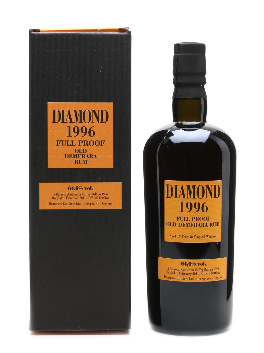 Diamond 1996 Demerara Rum 15 Year Old - Velier 70cl