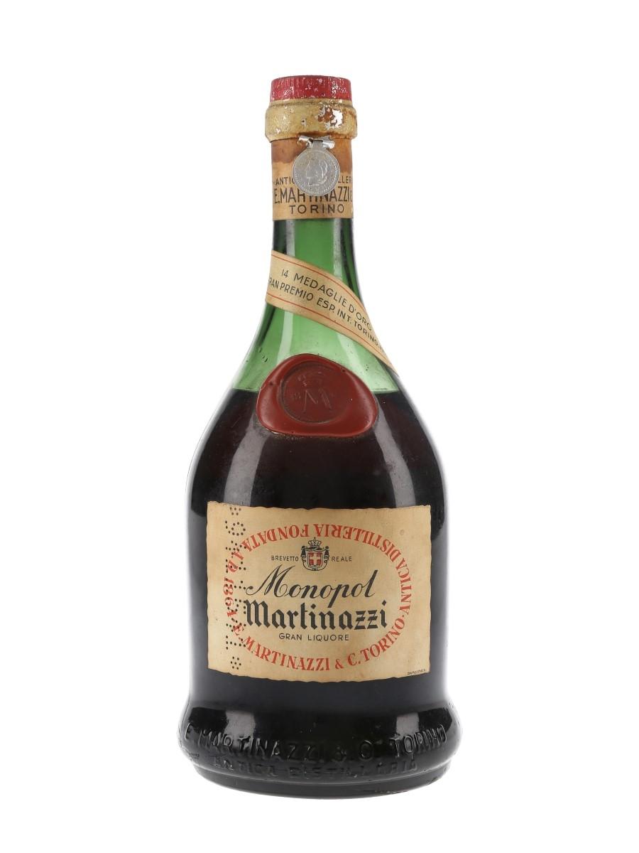 Martinazzi Monopol Gran Liquore Bottled 1940s 75cl / 40%