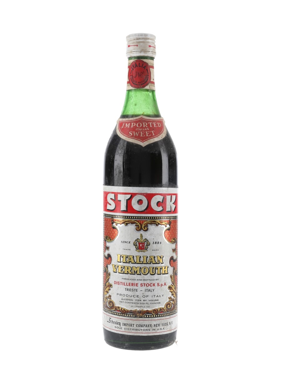 Stock Italian Vermouth Bottled 1970s - Schenley 100cl / 17.5%