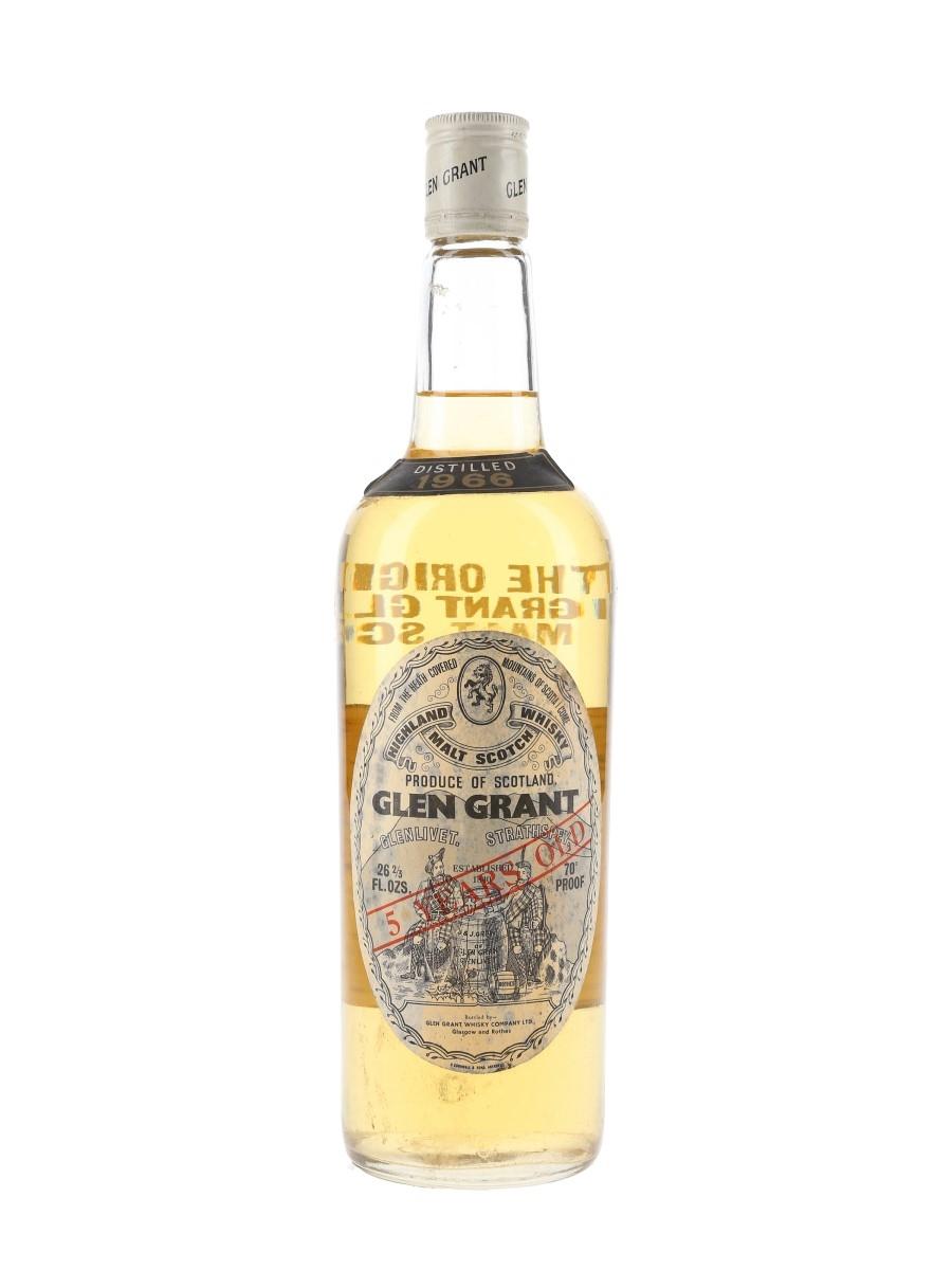 Glen Grant 1966 5 Year Old Bottled 1970s 75.7cl / 40%