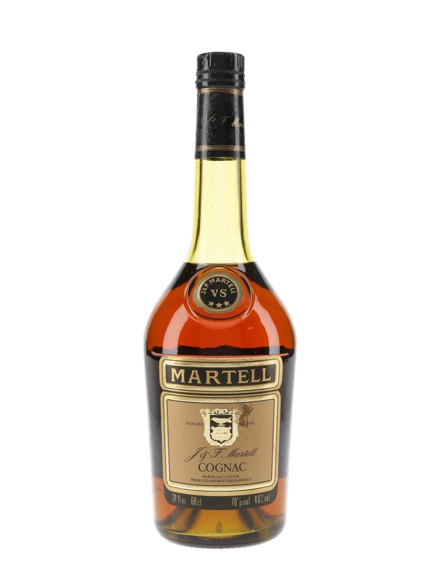 Martell 3 Star VS Bottled 1970s-1980s 68cl / 40%