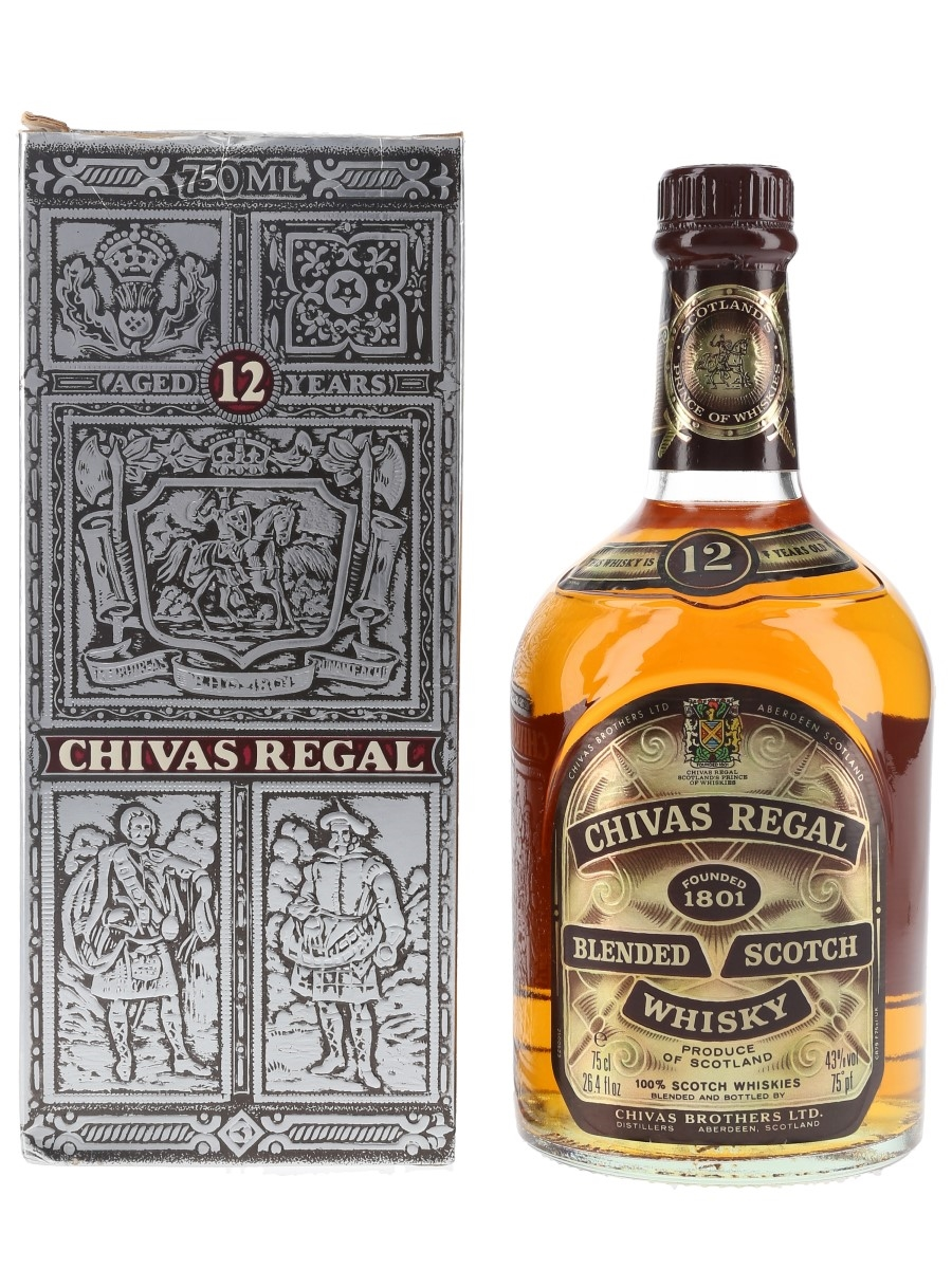 Chivas Regal 12 Year Old Bottled 1980s 75cl / 43%