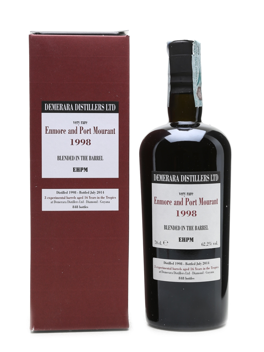 Enmore and Port Mourant 1998 16 Year Old 70cl / 62.2%