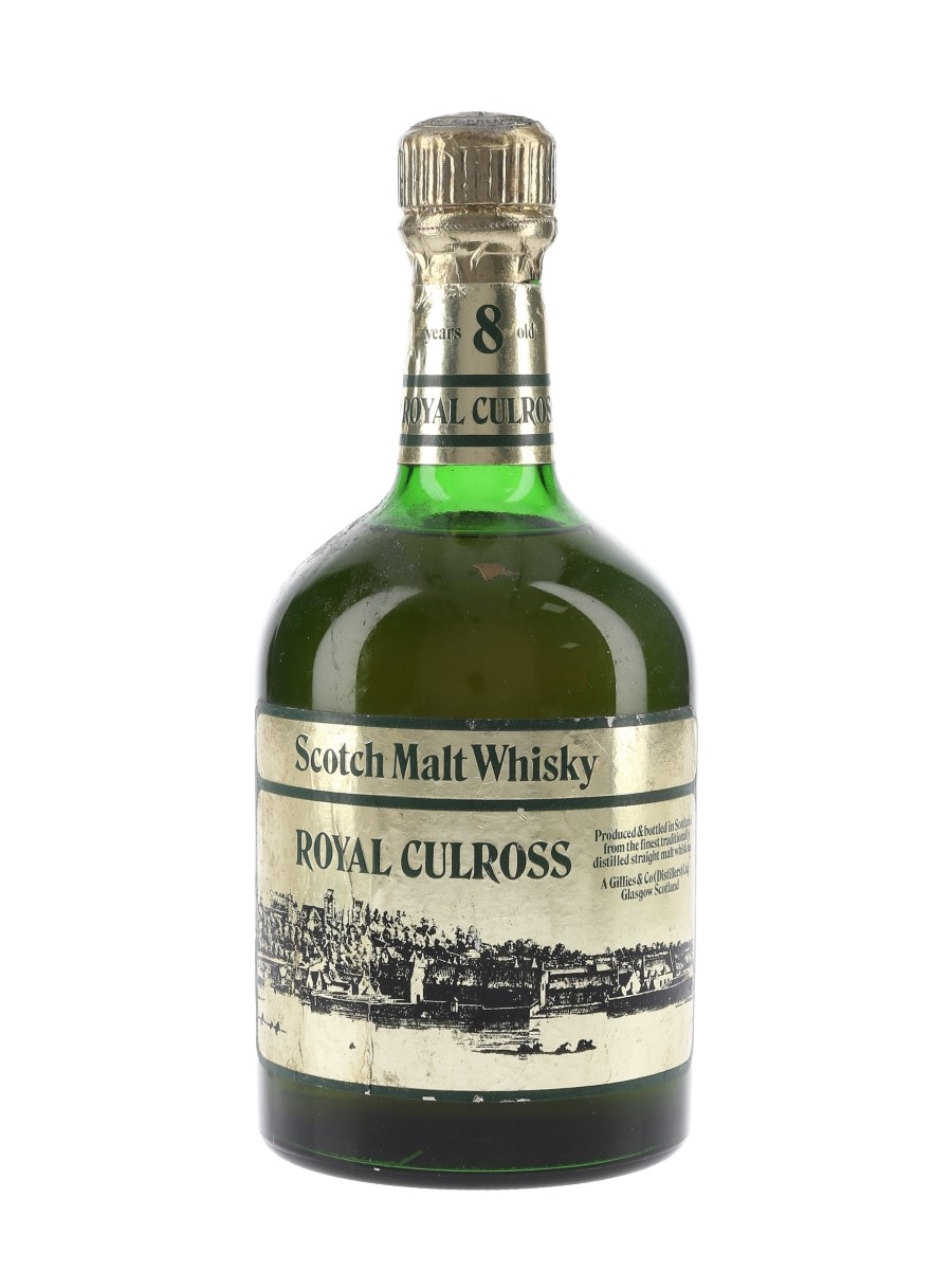 Royal Culross 8 Year Old Bottled 1980s 75cl