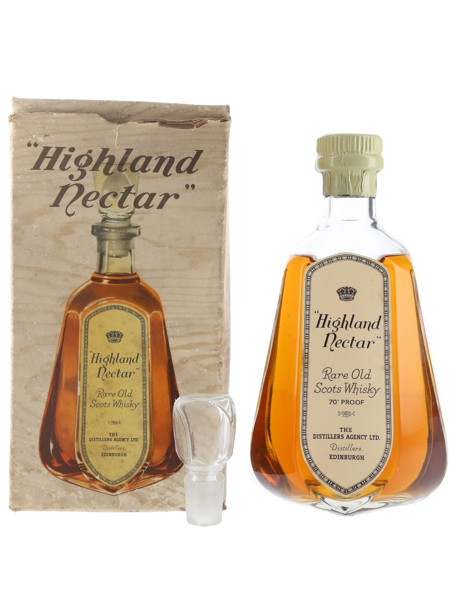 Highland Nectar Bottled 1970s - Distillers Agency 75cl / 40%
