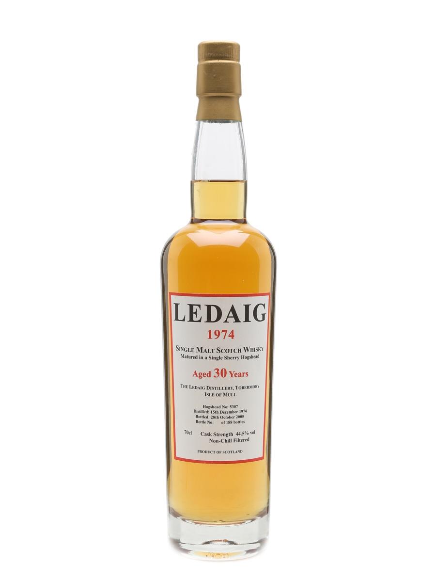 Ledaig 1974 30 Year Old  70cl