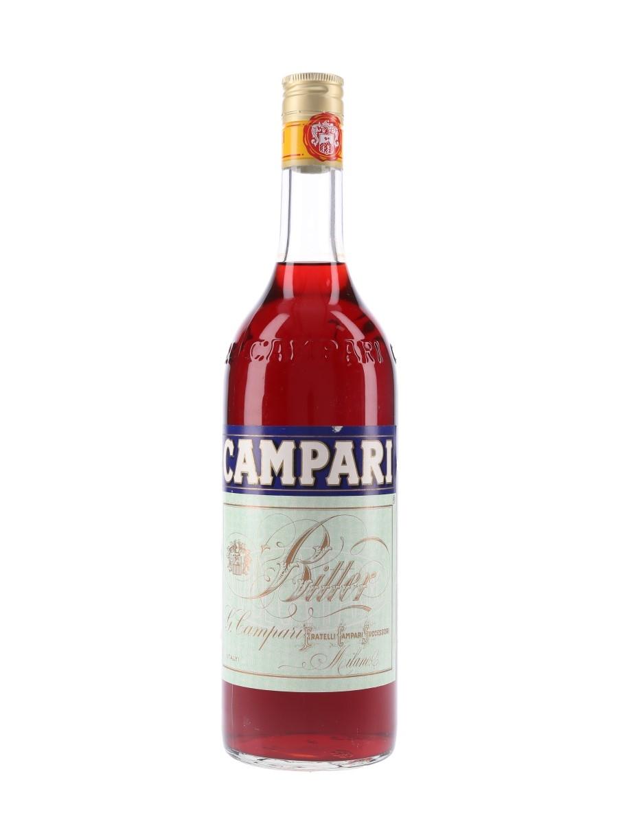 Campari Bitter Bottled 1980s-1990s 100cl