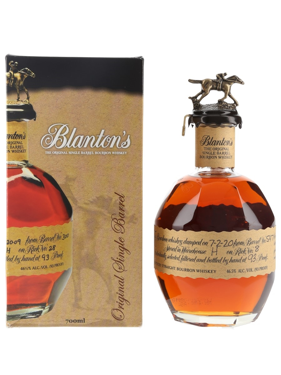 Blanton's Original Single Barrel No.547 Bottled 2020 70cl / 46.5%