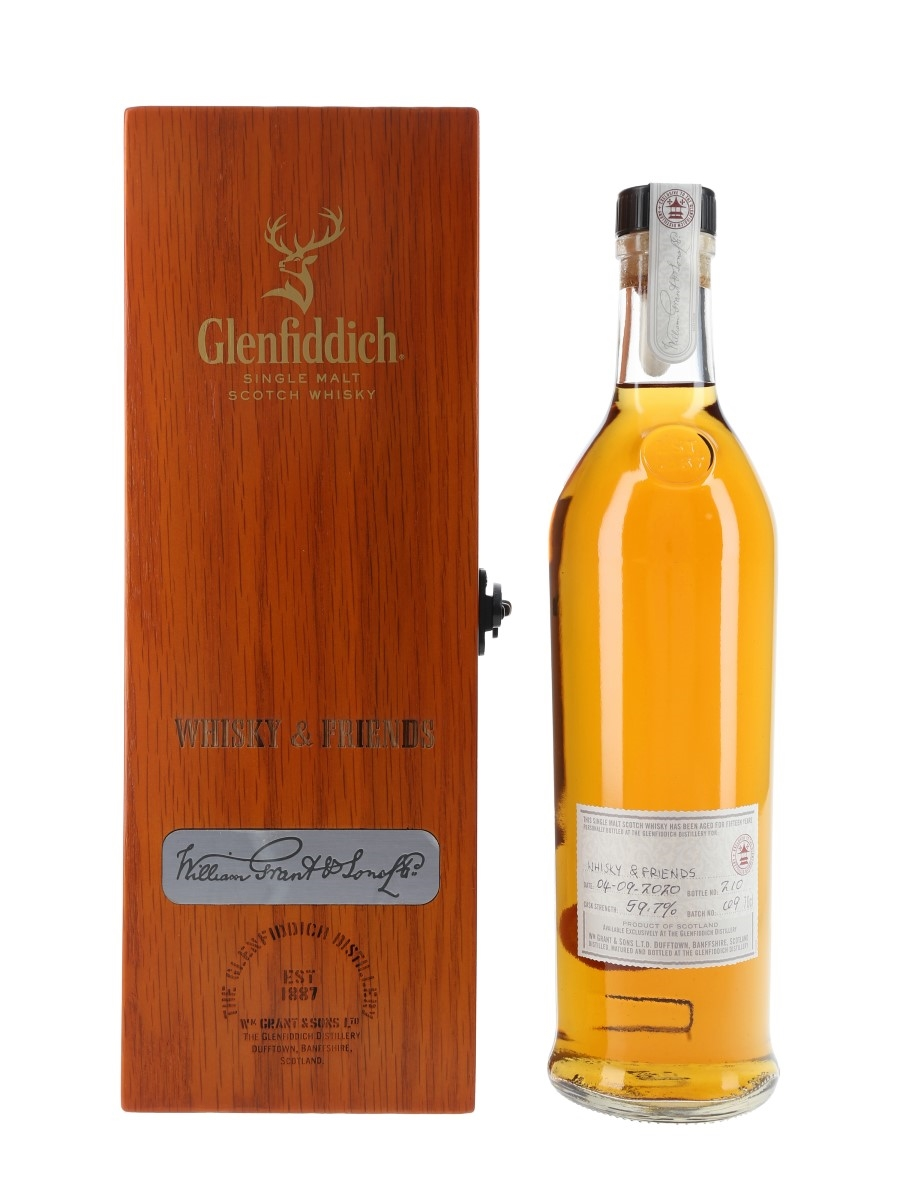 Glenfiddich 15 Year Old Whisky & Friends Bottled 2020 - Distillery Exclusive 70cl / 59.7%