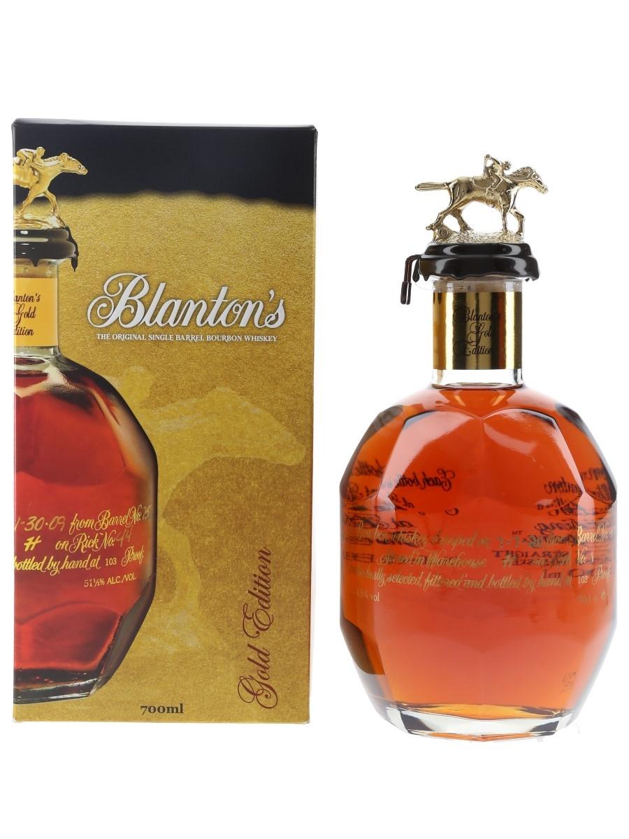 Blanton's Gold Edition Barrel No. 479 Bottled 2020 70cl / 51.5%