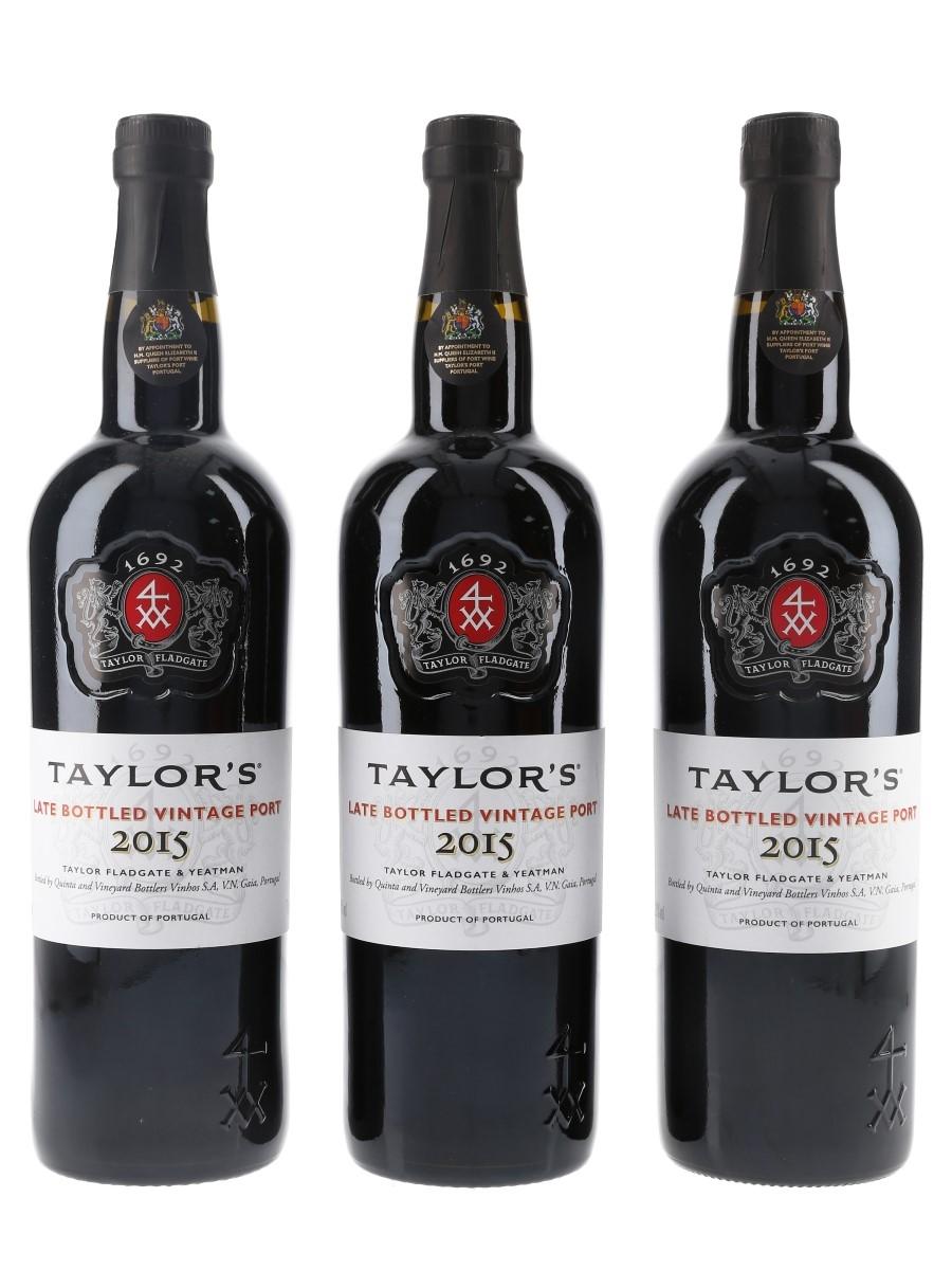 Taylor's 2015 Late Bottled Vintage Port  3 x 75cl / 20%