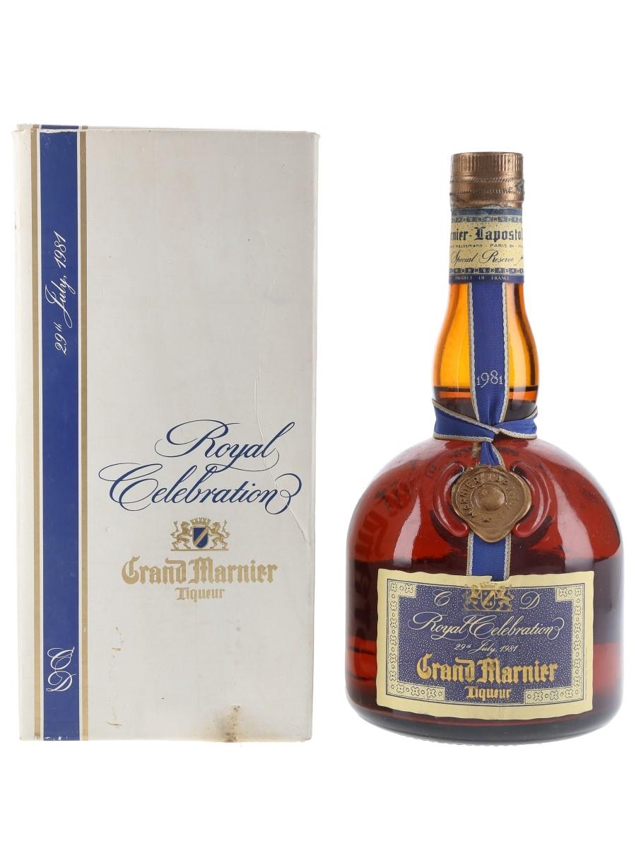 Grand Marnier 1981 Royal Celebration Charles & Diana 75cl / 40%