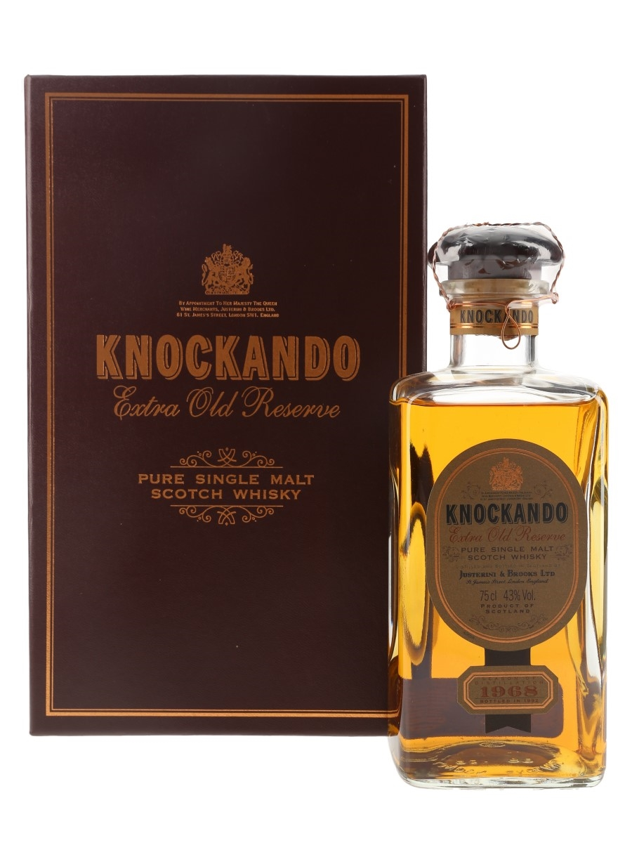 Knockando 1968 Bottled 1992 75cl / 43%