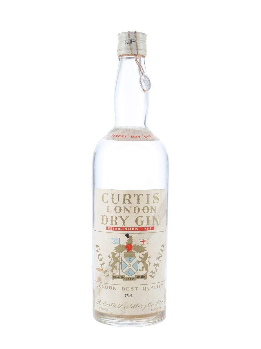 Curtis London Dry Gin Bottled 1950s - Orlandi 75cl / 43%