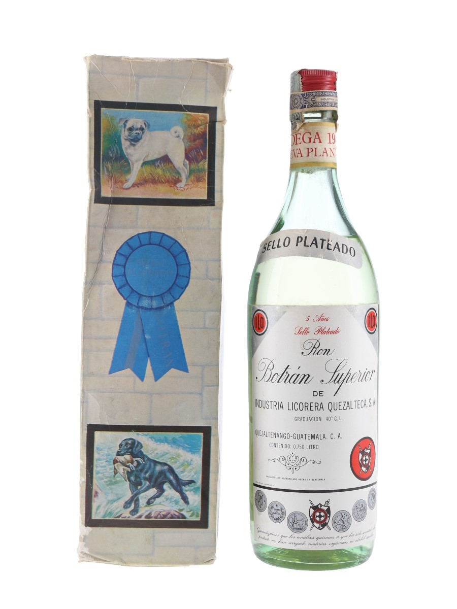 Botran Superior 5 Year Old Sello Plateado Bottled 1970s 75cl