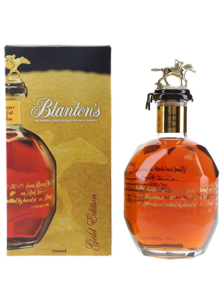 Blanton's Gold Edition Barrel No. 909 Bottled 2020 70cl / 51.5%