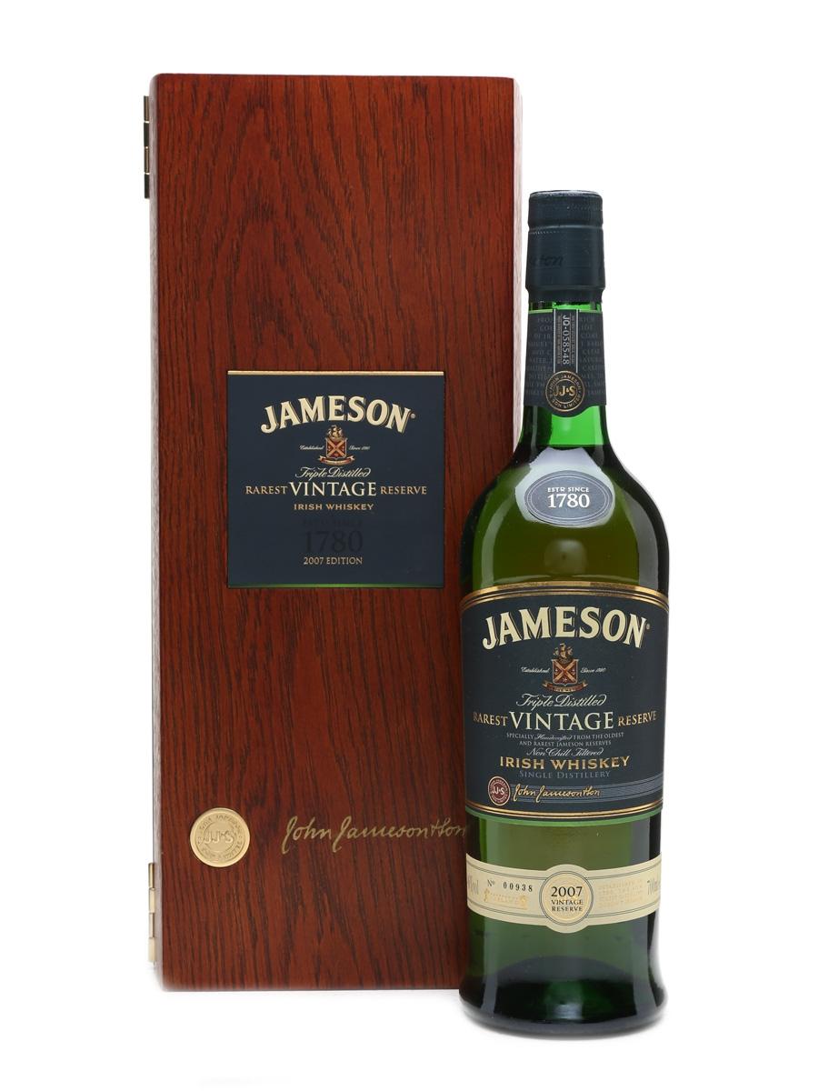 Jameson 2007 Rarest Vintage Reserve  70cl / 46%