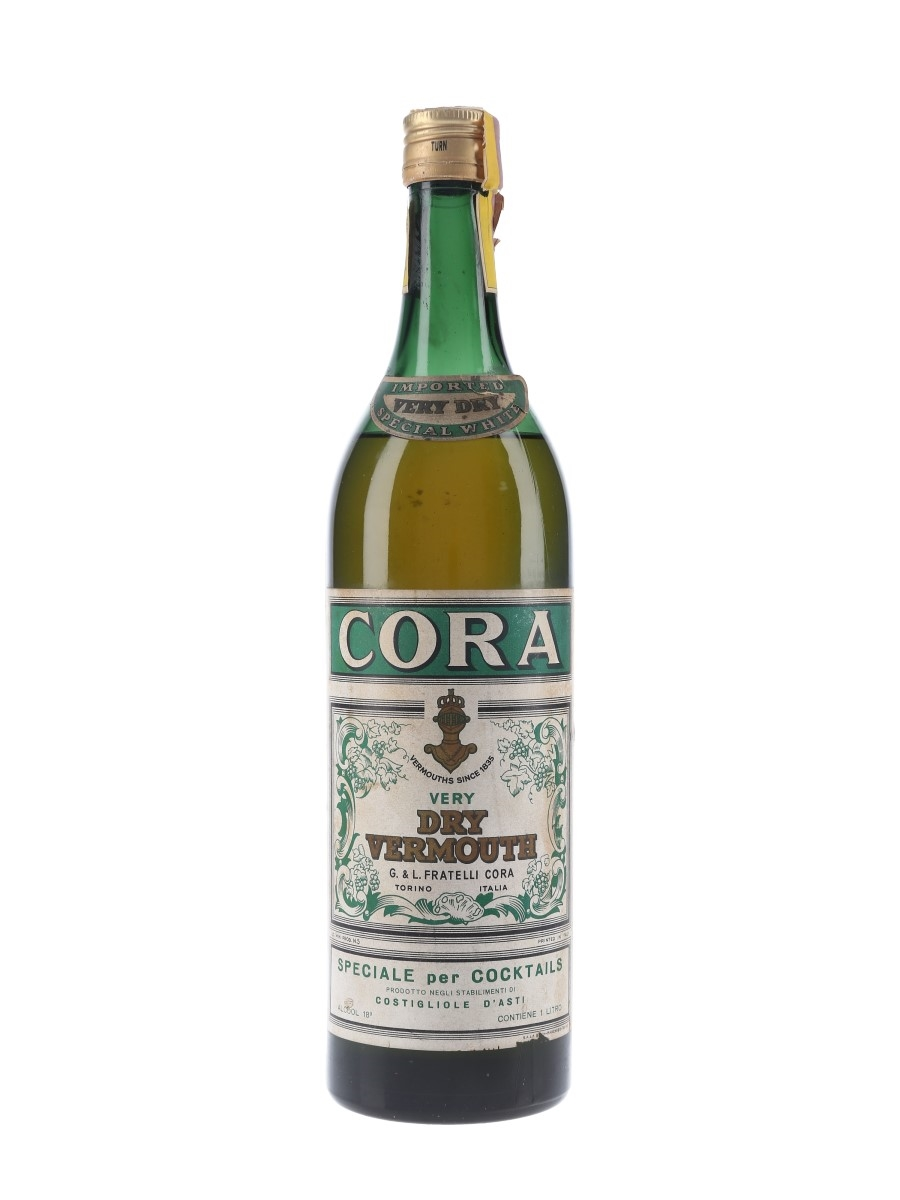 Cora Dry Vermouth Bottled 1960s 100cl / 18%