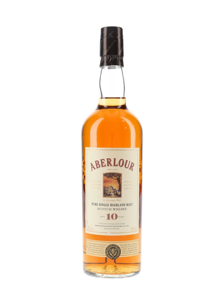 Aberlour 10 Year Old Bottled 1990s 70cl / 43%