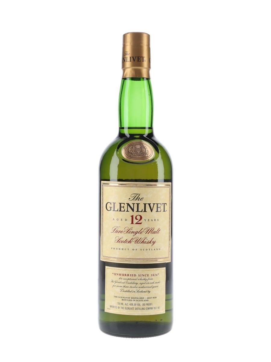 Glenlivet 12 Year Old Bottled 2000s 75cl / 40%