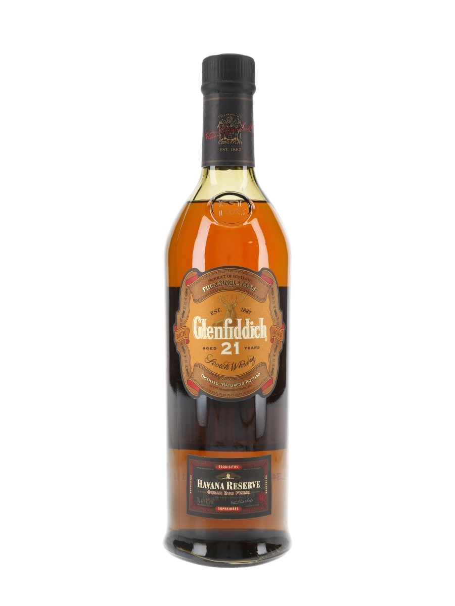 Glenfiddich 21 Year Old Havana Reserve Cuban Rum Finish 70cl / 40%