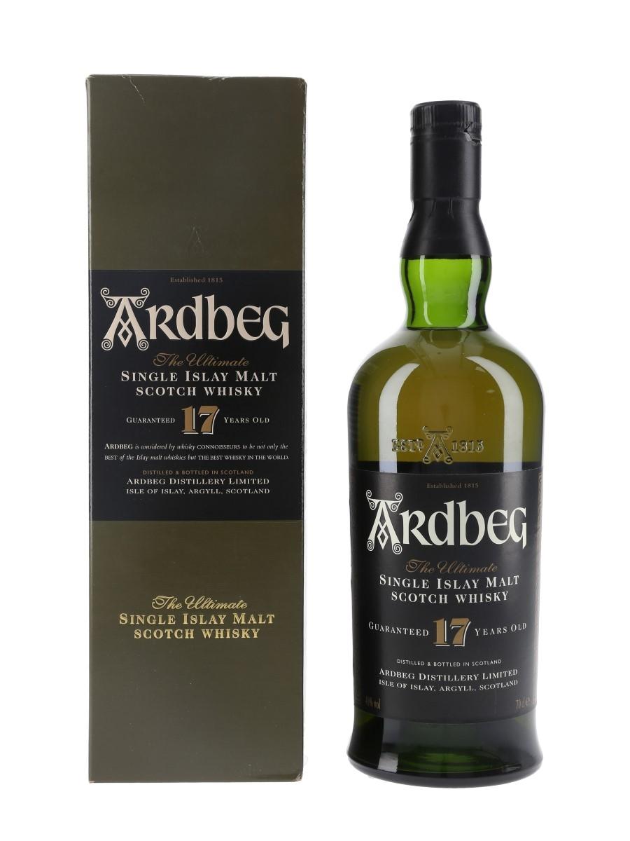 Ardbeg 17 Year Old Bottled 1990s 70cl / 40%