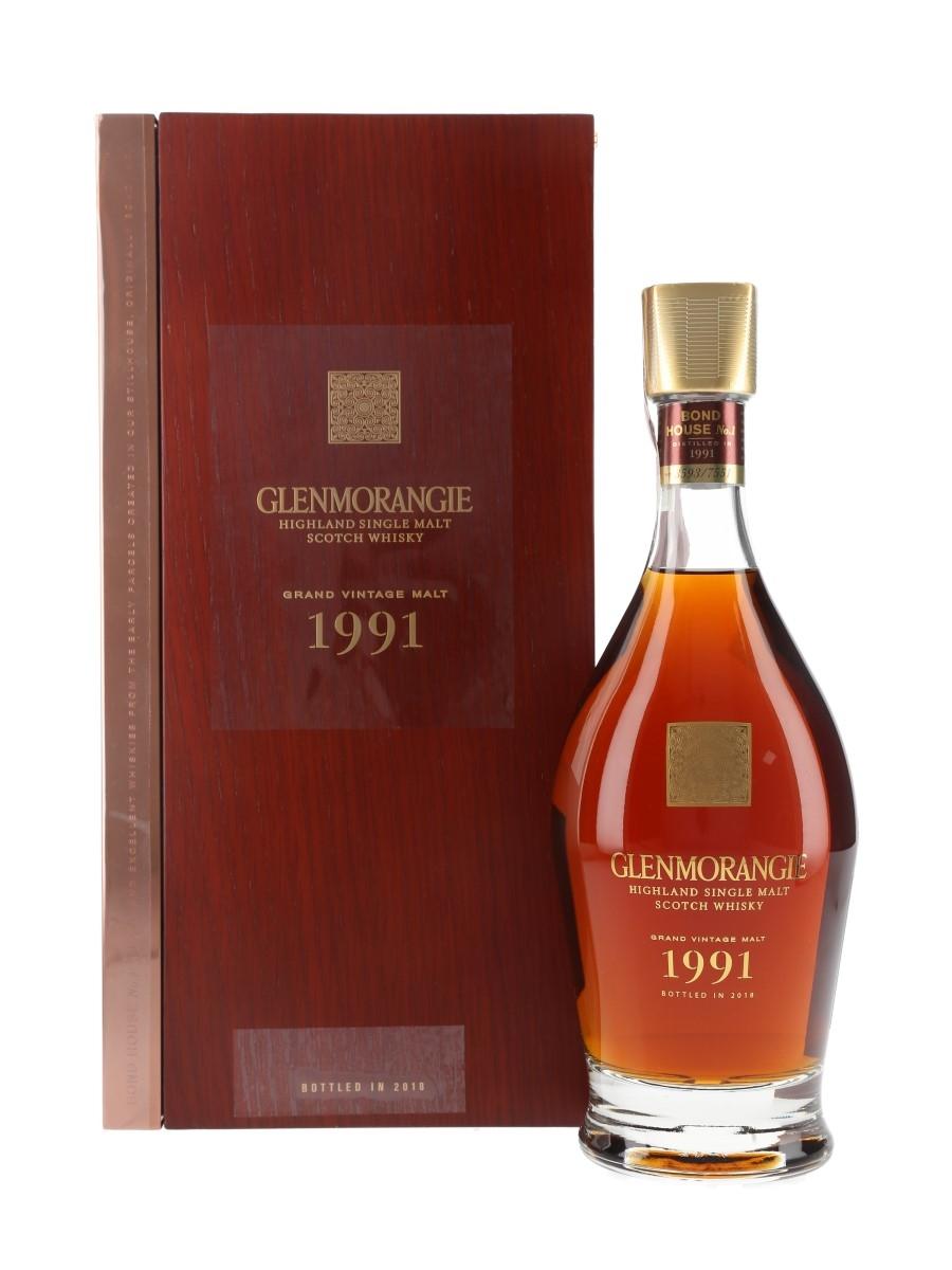 Glenmorangie 1991 26 Year Old Grand Vintage Malt Bottled 2018 - Bond House No.1 70cl / 43%