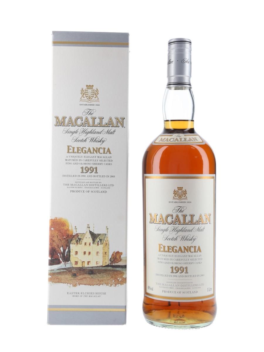Macallan 1991 Elegancia Bottled 2003 100cl / 40%