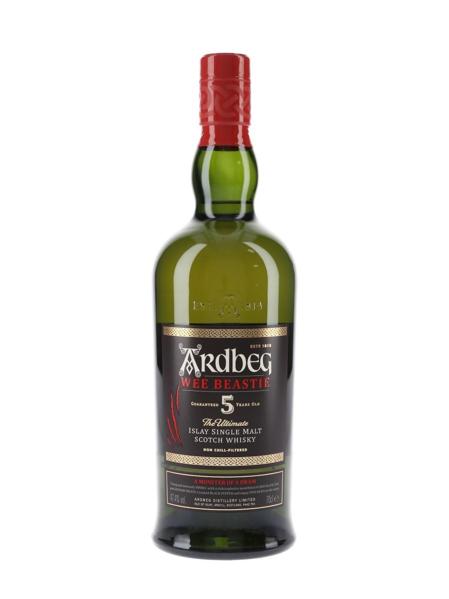 Ardbeg Wee Beastie 5 Year Old Bottled 2020 70cl / 47.4%