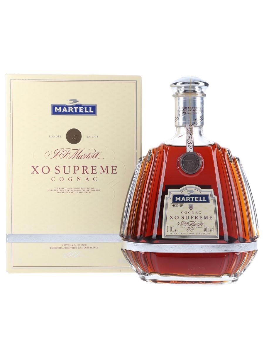 Martell XO Supreme Bottled 1990s - Hong Kong Duty Free 100cl / 40%