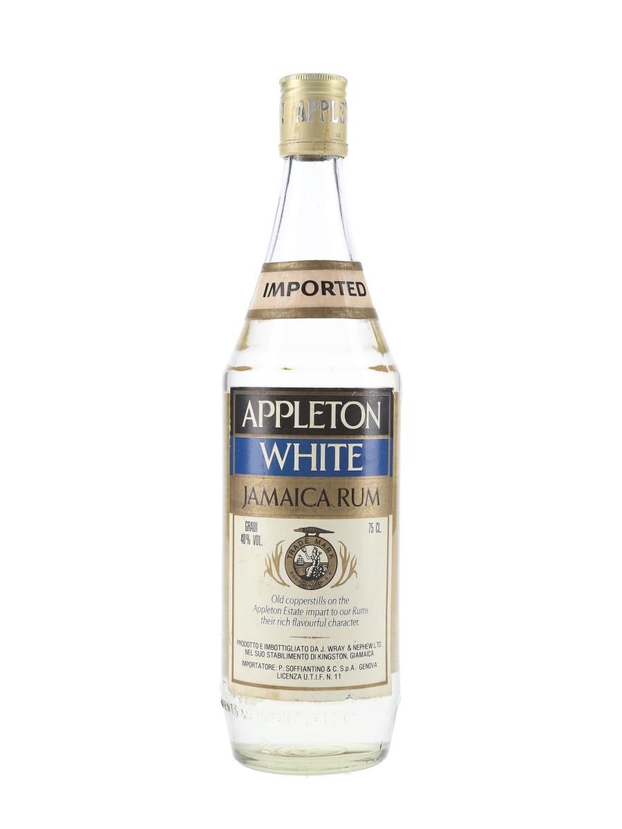 Appleton White Jamaica Rum Bottled 1970s - Soffiantino 75cl / 40%