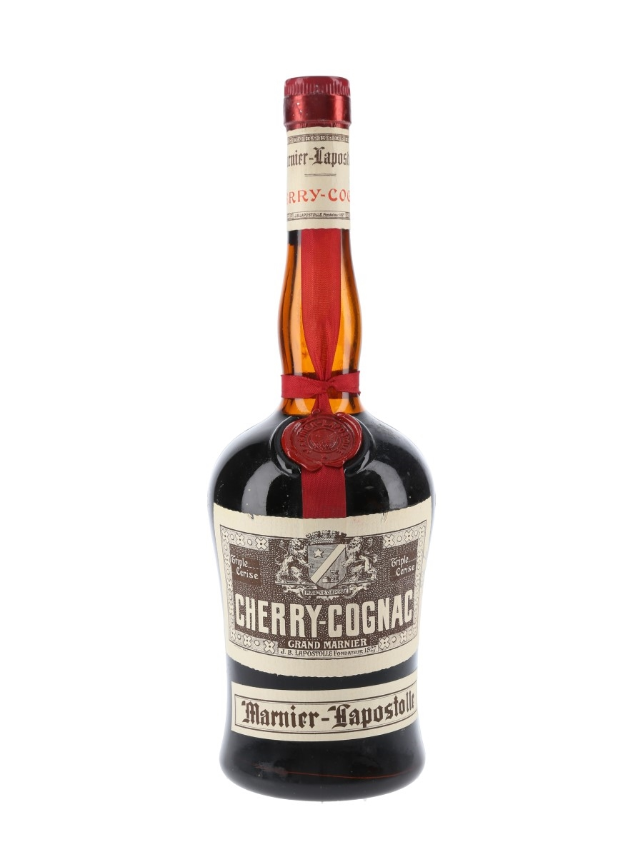 Grand Marnier Cherry Cognac Bottled 1950s 75cl