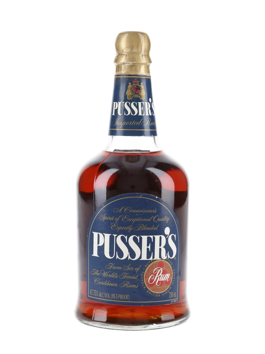 Pusser's Imported Rum Bottled 1990s-2000s 75cl / 47.75%