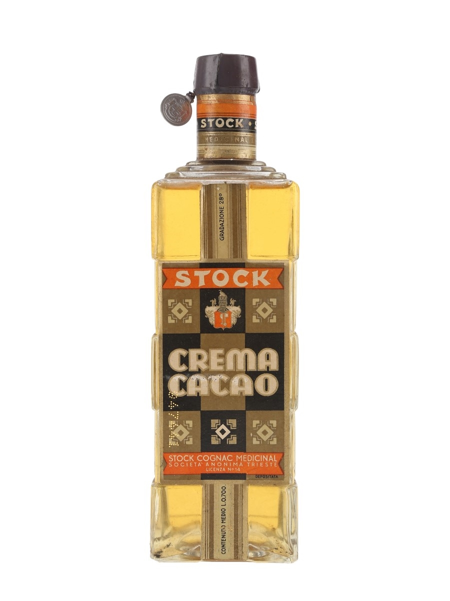 Stock Crema Cacao Bottled 1940s 70cl / 28%
