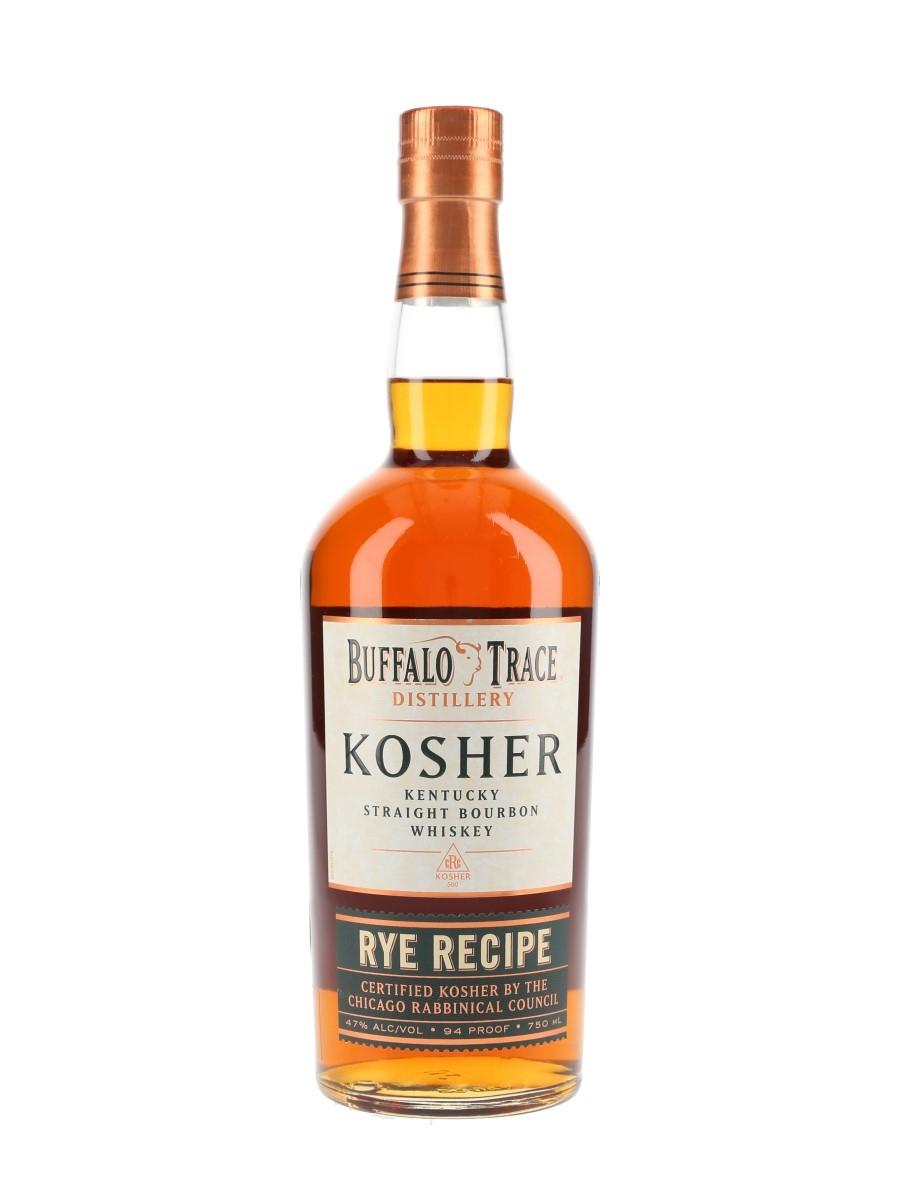 Buffalo Trace 7 Year Old Kosher Rye Recipe Bottled 2020 75cl / 47%