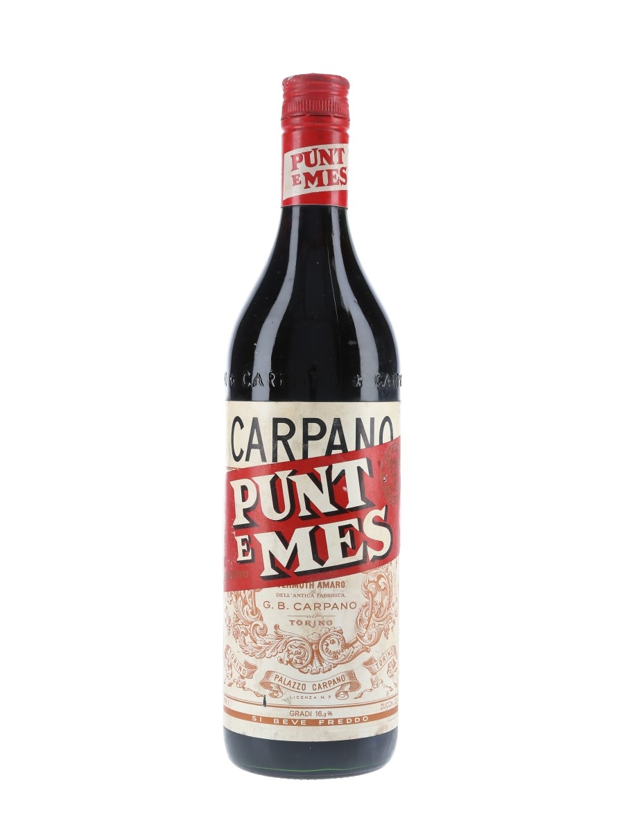 Carpano Punt E Mes Bottled 1970s 100cl / 16.3%