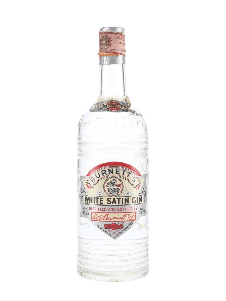 Sir Robert Burnett's White Satin Gin Spring Cap Bottled 1950s 75cl / 45%