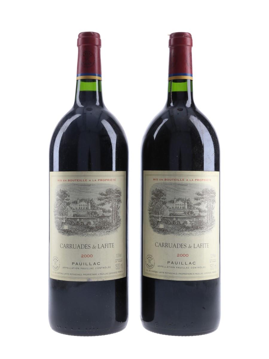 Carruades De Lafite Rothschild 2000 Pauillac - Large Format 2 x 150cl / 12.5%