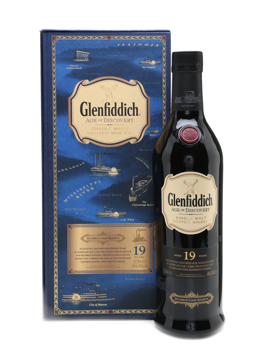 Glenfiddich 19 Year Old Age Of Discovery Bourbon 70cl / 40%