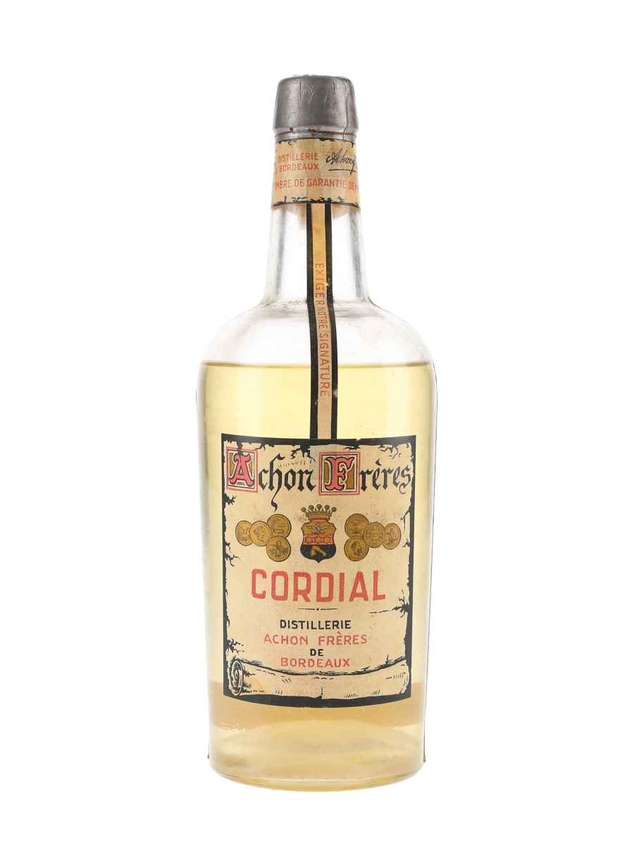 Achon Freres Cordial Bottled 1950s 80cl / 38%