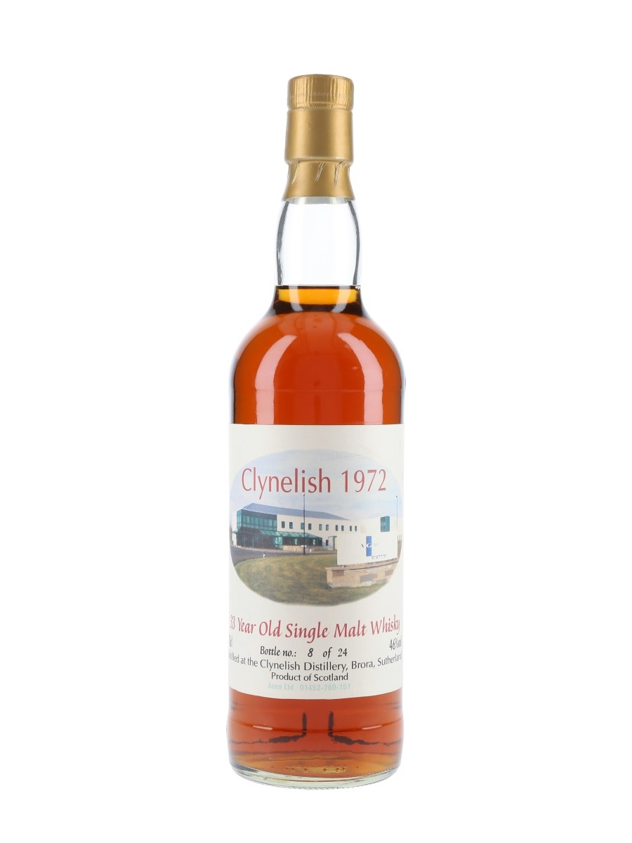 Clynelish 1972 33 Year Old Bottled No. 8 of 24 - Aceo Ltd. 70cl / 46%