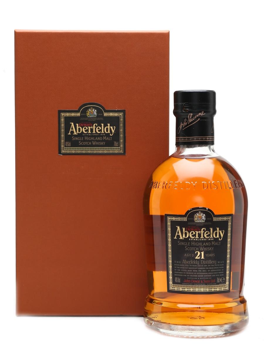 Aberfeldy 21 Year Old The Heart Of Dewar's 70cl / 40%