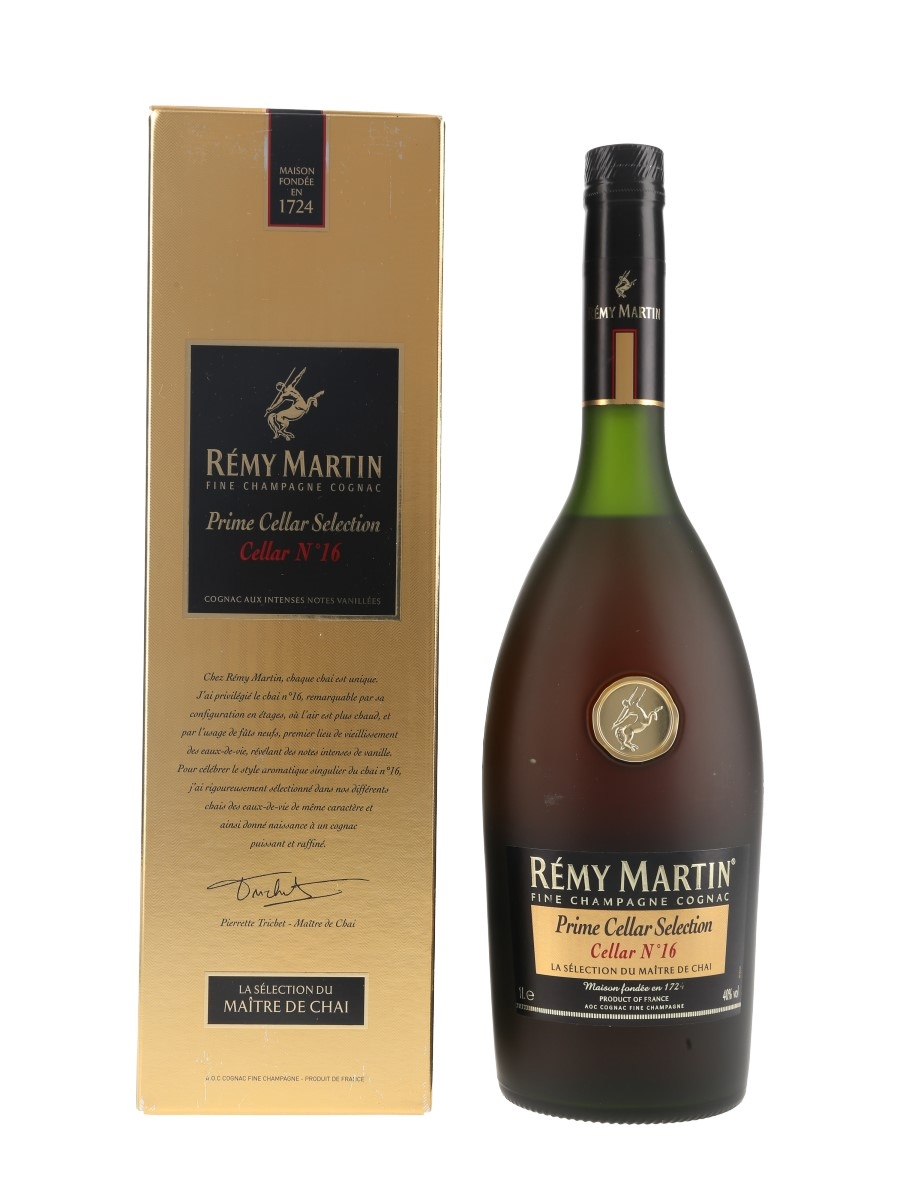 Remy Martin Cellar No.16 Bottled 2015 - Prime Cellar Selection 100cl / 40%
