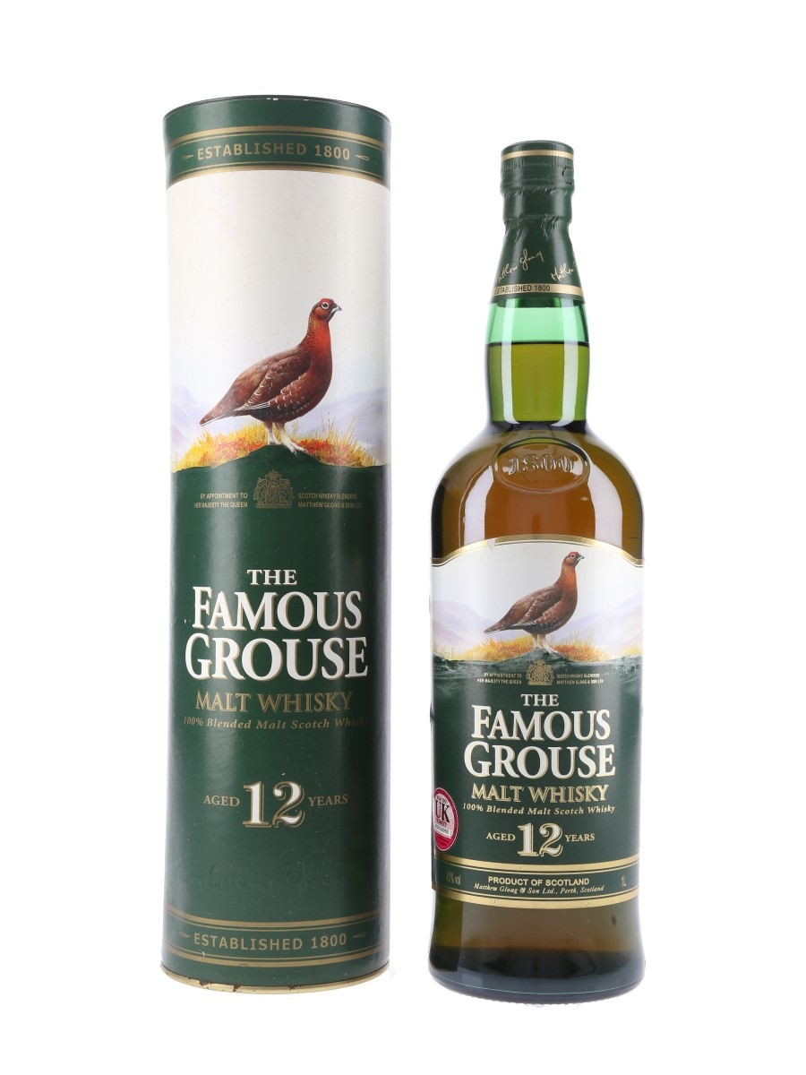 Famous Grouse 12 Year Old  100cl / 40%